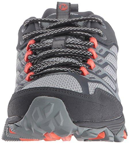 Merrell Donna Moab Fst Scarpe Da Trekking Grigio / Arancione