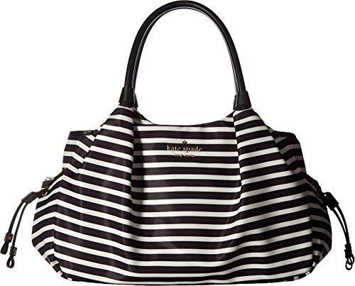 Kate Spade New York Women's Watson Lane Stevie Baby Bag Black/Clotted Cream One Size