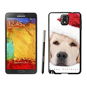 Custom Design Christmas Dog Black Samsung Galaxy Note 3 Case 6