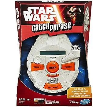 Amazon Hasbro Star Wars Catch Phrase Game Toys Games