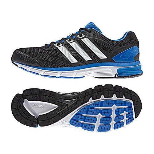 Adidas SS15 cojín de Nova estructurado de hombre de piel de la estabilidad de la- Multicolor - negro/azul