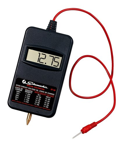 12 Volt Digital Voltmeter : Schumacher bt volt digital voltmeter battery