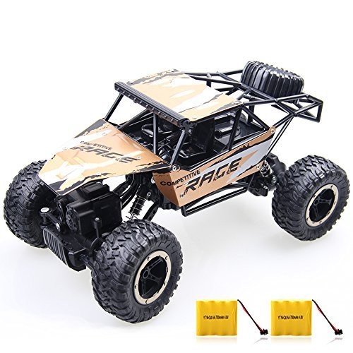 Rc Cars,GMAXT For Remote Control Car,1/14 Scale,2.4Ghz 4WD Off-Road Vehicle With 2 Rechargeable Batteries