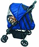 Pet Gear PG8100ST Happy Trails Pet Stroller, Cobalt Blue, My Pet Supplies