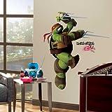 "Teenage Mutant Ninja Turtles ""Raphael"" Wall Decal 33""x36"""