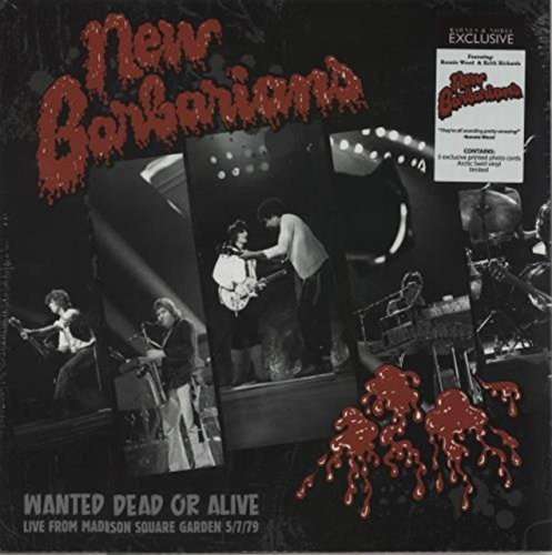 Wanted Dead or Alive - Arctic Blast Black & White Swirl Vinyl