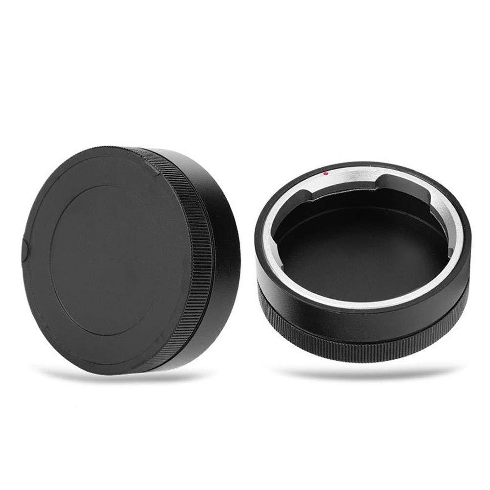 Argento portatile durevole impermeabile antipolvere antigraffio leggero lente copriobiettivo per LEICA M fotocamera Professionale mini fotocamera digitale videocamera lente posteriore in metallo