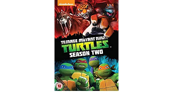 Teenage Mutant Ninja Turtles: Season Two 2012 DVD by Rob ...