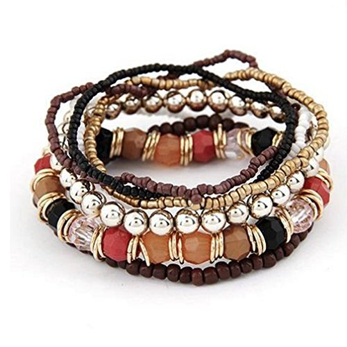 Creazy-1-Set-7pcs-Boho-Wholesale-Multilayer-Acrylic-Beads-Beach-Bracelet