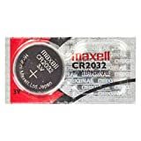 Progressive Concepts CR2032 Maxell CR2032 5-Pack 3V Lithium Coin Cell Batteries