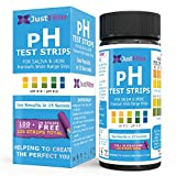 pH Test Strips for Testing Alkaline and Acid Levels in the Body. Track & Monitor your pH Level using Saliva and Urine. Get Highly Accurate Results in Seconds. (1 Bottle)