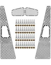 Skid Plate Zijden Metalen Skid Plate Zijden RC Upgrade Onderdelen Accessoire Geschikt voor Traxxas TRX4 1/10 RC Auto
