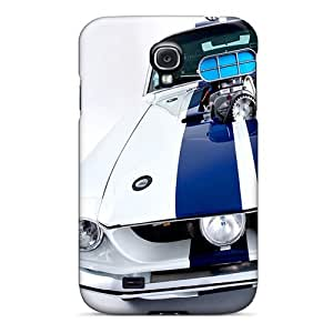 Durable Defender Case For Galaxy S4 Tpu Cover(shelby Gt500 1)