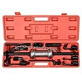 GHP Home/Business 13 Pcs Durable Heavy Duty Dent Puller Slide Hammer Tool Kit
