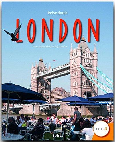 Reise durch LONDON (TING-Buch) - Ein Bildband mit über 180 Bildern - STÜRTZ Verlag