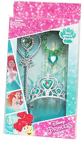 Ariel Tiara (Disney Princess Ariel Tiara, Wand, Bracelet)