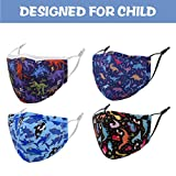 Dinosaur Planet Washable Kids Face Mask with