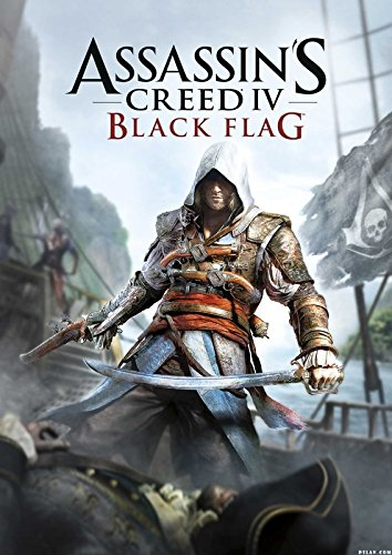 Assassin's Creed Black Flag ON FINE Art Paper HD Quality