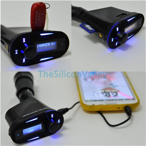 2015 Newest Car Kit MP3 Player Wireless FM Transmitter Modul