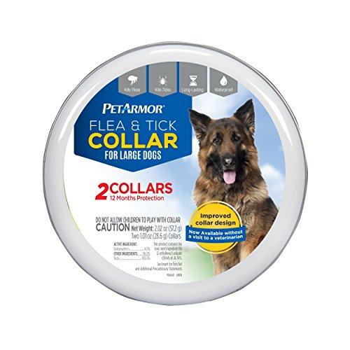 PETARMOR PetArmor Flea and Tick Collar for Dogs, Large, 2 co