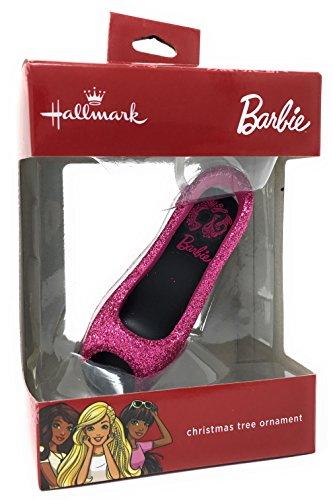 2017 Hallmark Barbie Pink Heel Tree Ornament