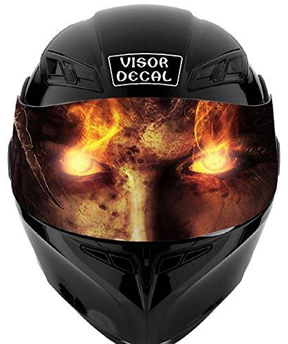 Clown Motorcycle Helmet - 8