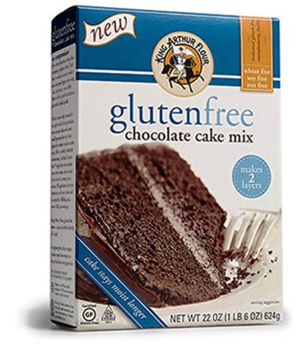- King Arthur Chocolate Cake Mix, Gluten Free, 22-Ounce (Pack of 2)