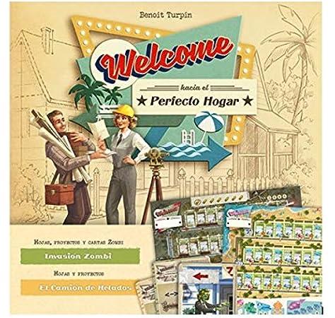 SD Games Welcome hacia hogar: Invasion Zombie y el camion de Helados - Expansión [Castellano]: Amazon.es: Juguetes y juegos