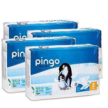 Pingo Pañales Ecológico Talla 2 (3-6 Kg) 168 Unidades