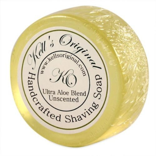 Unscented Shaving Cake shave soap by Kell's Original by Kell's Original