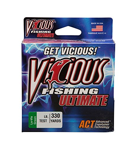 Vicious 330 Yard Fishing Ultimate Fishing Line (Lo-Vis Green)