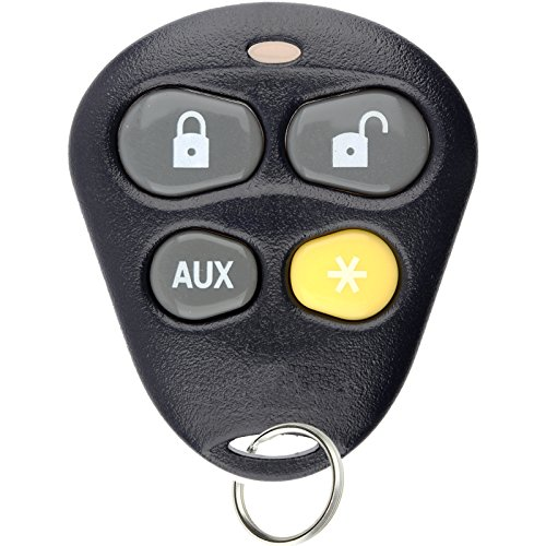 KeylessOption Keyless Entry Remote Starter Car Key Fob Alarm For Aftermarket Viper Automate EZSDEI474V 474V (Car Remote Control Python)