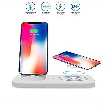 Amazon.com: Mengen88 QI - Cargador inalámbrico para teléfono ...
