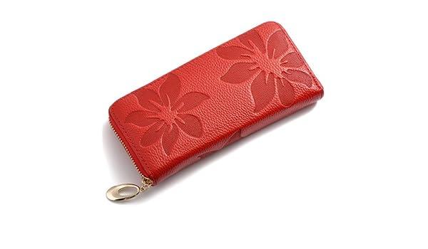 Da Wu Jia señoras bolso Mujer Carteras de cuero auténtico ...