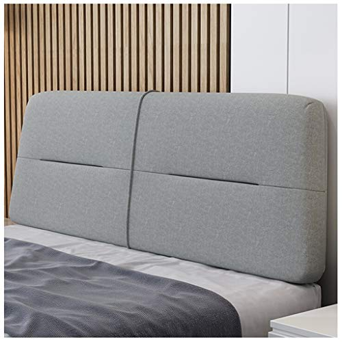 ALXLX Soft Headboard Bed Head Cover Soft Headrest Pad Waist Pad Fashion, 4 Colors, Multiple Sizes ,Suitable for Bed Sofa Lounge Chair Bay Window (Color : D, Size : 150X60X10cm)