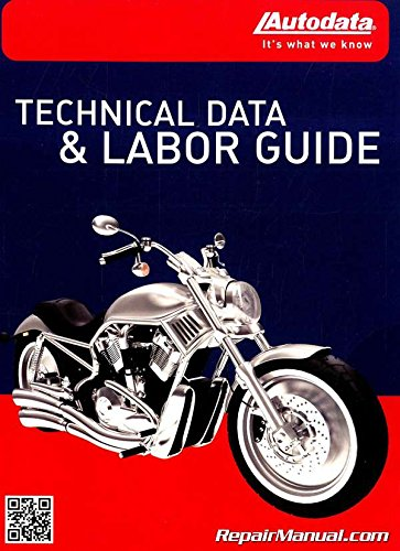 16-CDA140 ATV and Motorcycle Labor Times Guide - 1989-2016 Autodata + Cyclepedia Pro ()