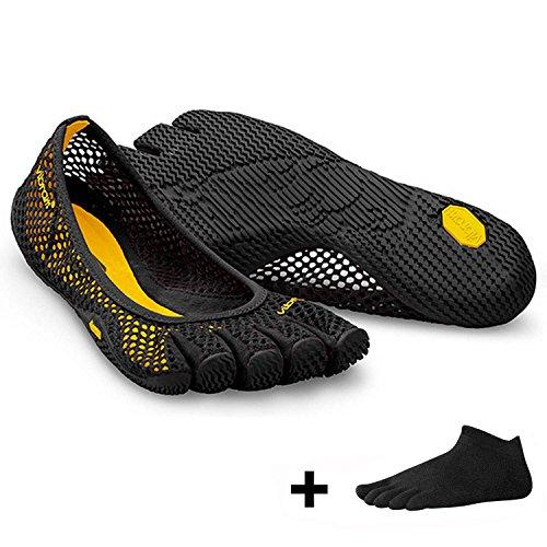 orteils VI Vibram de à Chaussures pour loisirs femme FiveFingers noir B H5xfW7nFXx