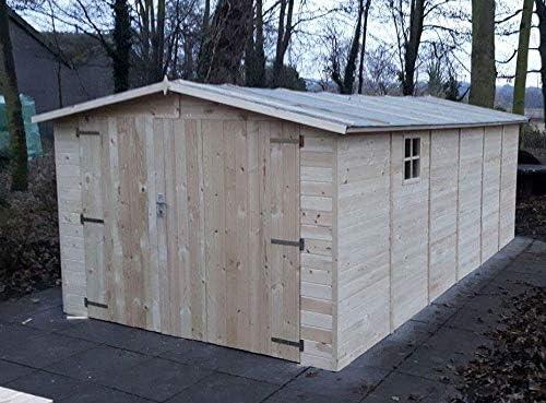 AL Wood Ltd - Cobertizo de Madera para Garaje (6 x 3 m): Amazon.es: Jardín