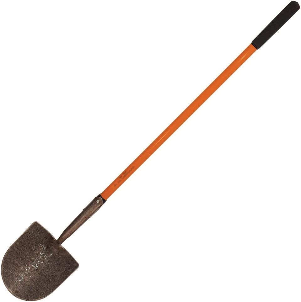 A.M. Leonard Forged Steel Caprock Irrigation Shovel with Ash Handle – 48 Inches