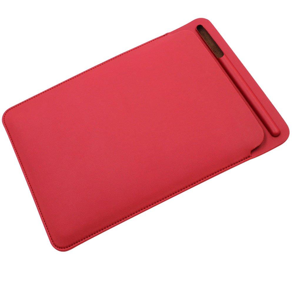 Pro 10.5 Pulgada Malet/ín de Cuero Cover Case con Soporte Incorporado de Apple Pencil 10.5, Red Pinhen Funda Protectora para iPad Pro 10.5 Sleeve