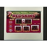 Washington Redskins Scoreboard Desk Clock