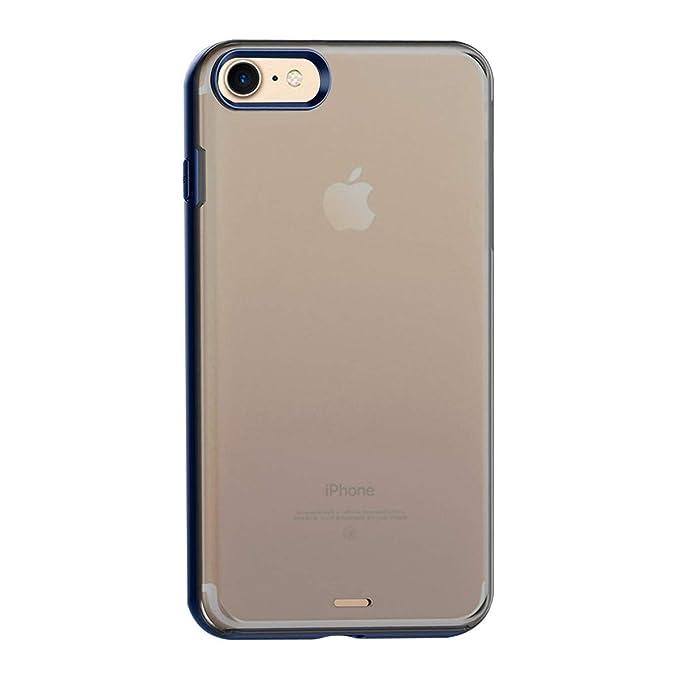 Funda iPhone 6, iPhone 6S Semi Transparente Ligero ...