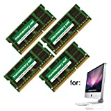 MacMemory Net 16GB (4x4GB) DDR3 1333 Upgrade Memory Module for iMac 11.3 (i3 only) 11.3 (i5 & i7) 12.1 12.2