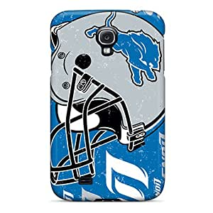 Fashionable Style Case Cover Skin For Galaxy S4- Detroit Lions