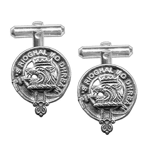 MacGregor Scottish Clan Crest Cufflinks by Celtic Studio