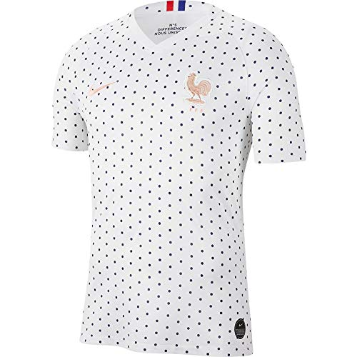 Nike Soccer France Away Jersey (XX-Large) White ()