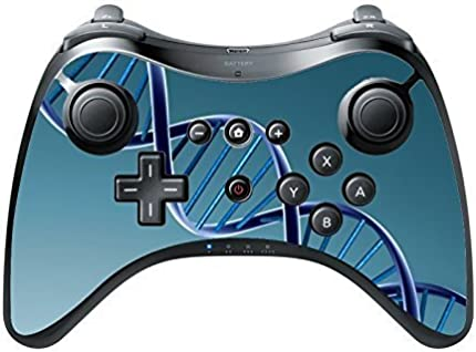 DNA Wii U Pro Controller Vinyl Decal Sticker Skin by Gorilla Cases