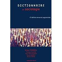DICTIONNAIRE DE SOCIOLOGIE 4E ÉD.