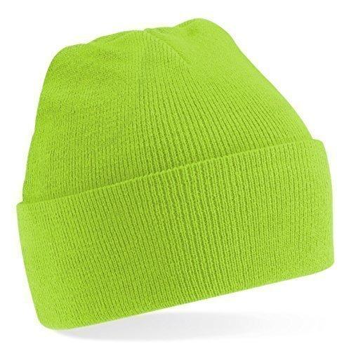 moda única Tejer Talla gorro lana Colores de gorro invierno talla Amarillo de Unisex mucho de ShirtInStyle Gorro Lima 4qBw1pB