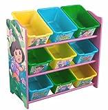 Nickelodeon Dora the Explorer 9 Bin Toy Organizer